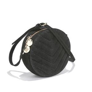 Runde Tasche ARAMIS in Steppoptik mit Reissverschluss PETITE MENDIGOTE