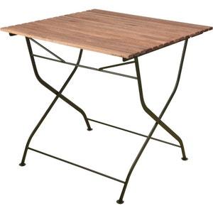 Table pliable en bois et métal ESSCHERT DESIGN