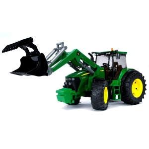 Tracteur John Deere 7930 avec fourche BRUDER