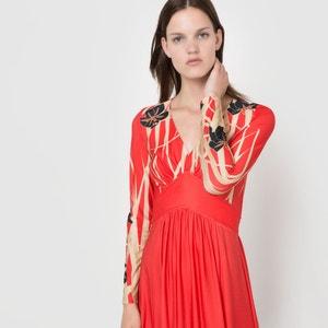 Vestido largo estampado Delphine Manivet x La Redoute