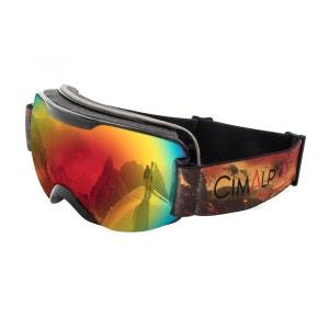 Masque de ski double écran polarisant sphérique CAT 3 CIMALP