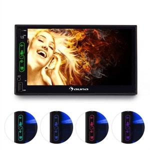 auna MVD-470 Autoradio numérique double écran tactile 18cm Bluetooth USB microSD AUNA