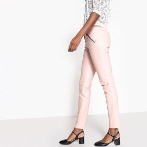Pantalon slim PU rock La Redoute Collections