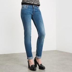 Jeans corte skinny, cintura normal, comprimento 32 LE TEMPS DES CERISES