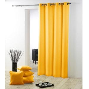 rideau jaune et noir la redoute. Black Bedroom Furniture Sets. Home Design Ideas