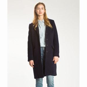Long manteau laine et coton LEVI'S