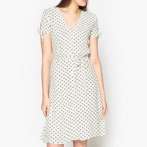Bedrucktes Kleid ANNIE mit Knopfverschluss JOLIE JOLIE PETITE MENDIGOTE