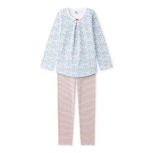 Pyjama fille à imprimé petites fleurs PETIT BATEAU