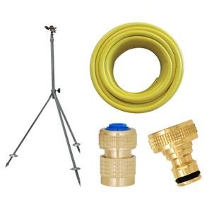 Kit complet arrosage avec tuyau 50m et accessoires BOUTTE