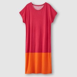 Robe bicolore manches courtes R essentiel R essentiel