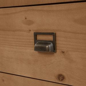 Armario colgador 2 puertas, 2 cajones, Lindley