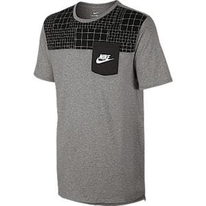 T-shirt dwukolorowy, okrągły dekolt NIKE
