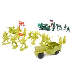 Soldats et accessoires 78 pieces WONDERKIDS