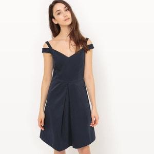 Flared Skirt with Shoulder Straps ESPRIT