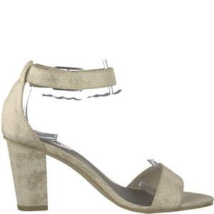 Heiti High Heeled Ankle Strap Sandals TAMARIS