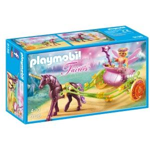 Playmobil 9136 Fairies : Fée avec carrosse et licorne PLAYMOBIL