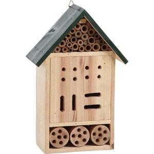 Hôtel à insectes en Bois 19x9,5x30cm MASTERY