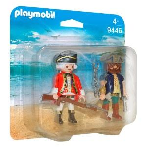 PLAYMOBIL 9446 Pirates - Pirate et soldat PLAYMOBIL