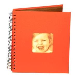 Album photo à spirale 20 pages - Pour bébé - L. 22,5 cm ATMOSPHERA
