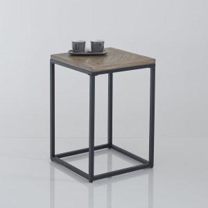 Bout de canapé métal et bois, H60 cm, Nottingham La Redoute Interieurs