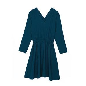 Long-Sleeved V-Neck Dress KARL MARC JOHN