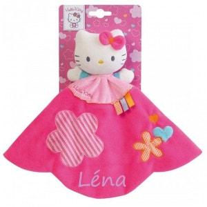 Doudou Plat pour Fille Hello Kitty - Modèle