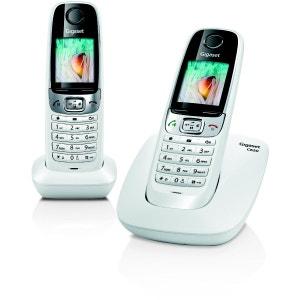 Téléphone répondeur sans fil duo GIGASET C620A Blanc GIGASET