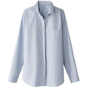 Рубашка прямого покроя из хлопка La Redoute Collections