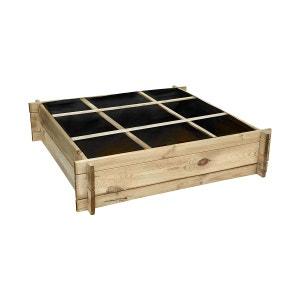 Carré potager divisé en bois petit modèle CEMONJARDIN