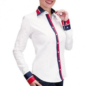 chemise bi-matiere london ANDREW MAC ALLISTER