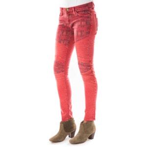 Jeans The Moto Ankle Current Elliot Rouge Fonce CURRENT ELLIOTT
