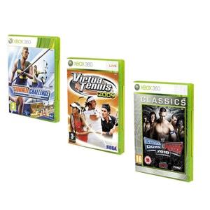 Pack de 3 jeux 100% sport - Xbox 360 NONAME