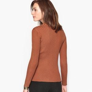 High Neck Jumper, 50% Merino Wool ANNE WEYBURN