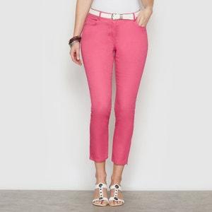 Pantalón tobillero de algodón stretch ANNE WEYBURN