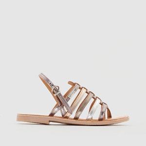 Hérisson Leather Flat Sandals LES TROPEZIENNES PAR M.BELARBI