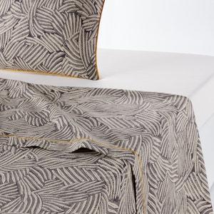 Drap plat imprimé, Mistral Carbone & blanc La Redoute Interieurs