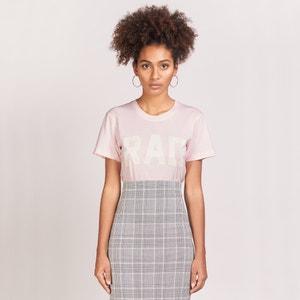 Tee shirt col rond, manches courtes avec logo RAD