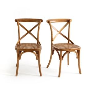 Chaise dos croisé Cedak (lot de 2) La Redoute Interieurs