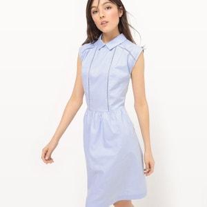Sukienka bez rękawów, gładka MADEMOISELLE R