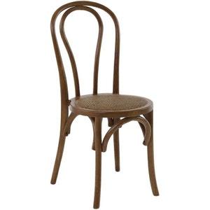 Chaise bistrot en bois d'orme (Lot de 2) Modèle 3 ZAGO