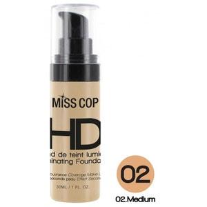 Fond de Teint Lumières HD Miss Cop - 02 Medium MISS COP