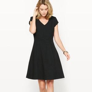 Wijde jurk, stretch keperstof ANNE WEYBURN