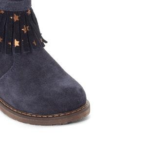 Boots  à franges cuir Stereo BOPY