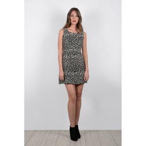 Korte jurk in polyester, zonder mouwen MOLLY BRACKEN
