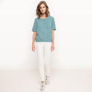 Blusa gráfica, cintura elástica R essentiel