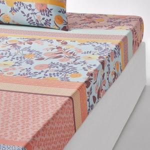 Lençol-capa estampado em puro algodão, Shisendo La Redoute Interieurs