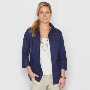 Жакет-рубашка с преобладанием льна ANNE WEYBURN