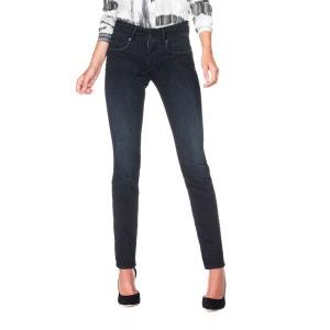 Jeans taille haute bleu foncé slim SALSA