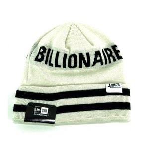 Bonnet Billionaire Boys Club x New Era Cuff Stripe Blanc WRUNG