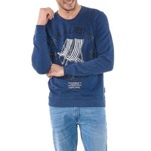Sweatshirt, Aufdruck